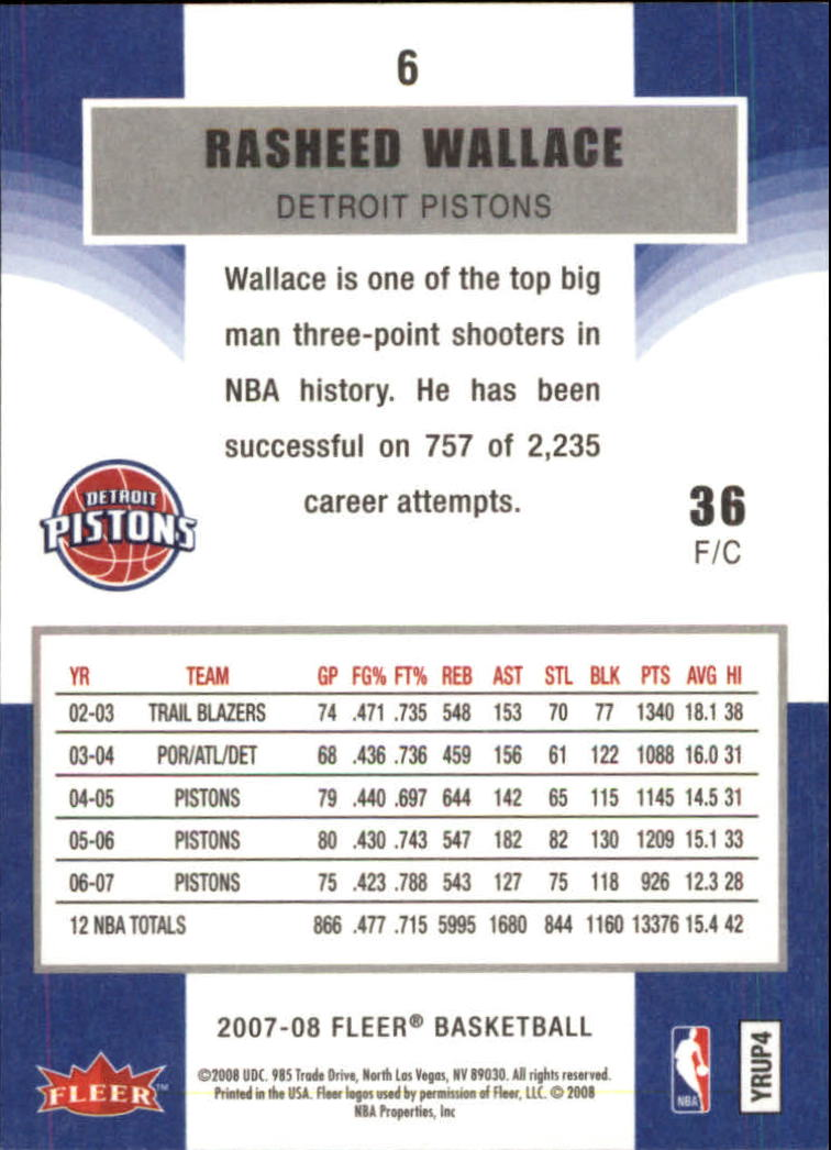 2007-08-Fleer-Basketball-1-250-Your-Choice-GOTBASEBALLCARDS thumbnail 11