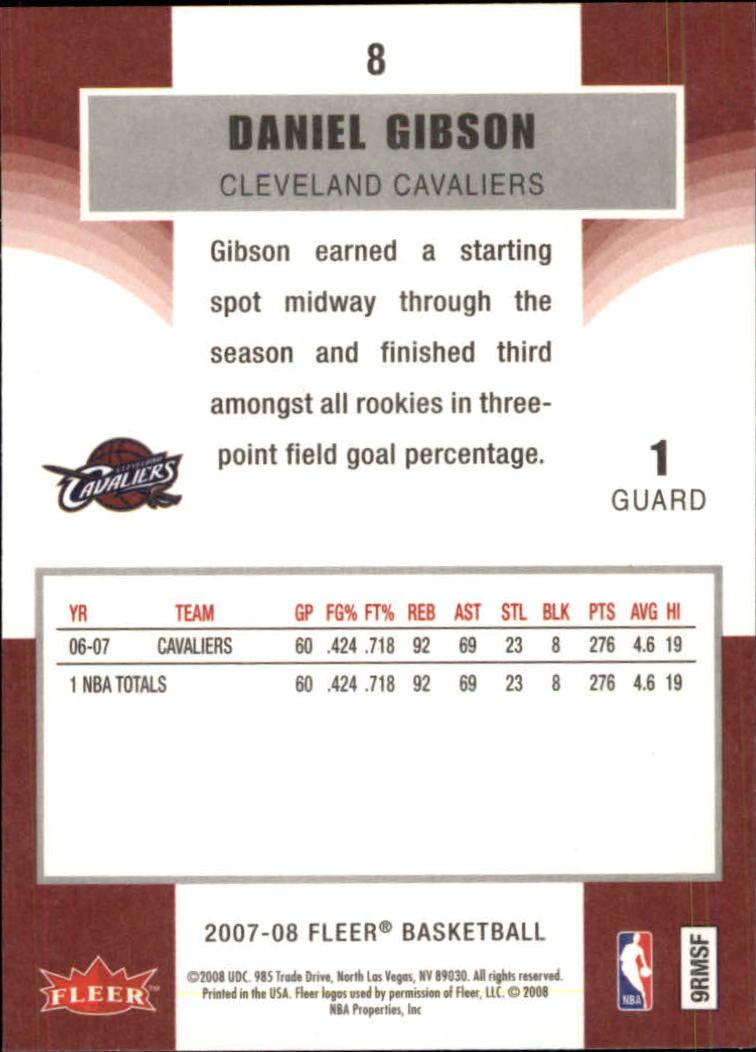 2007-08-Fleer-Basketball-1-250-Your-Choice-GOTBASEBALLCARDS thumbnail 15