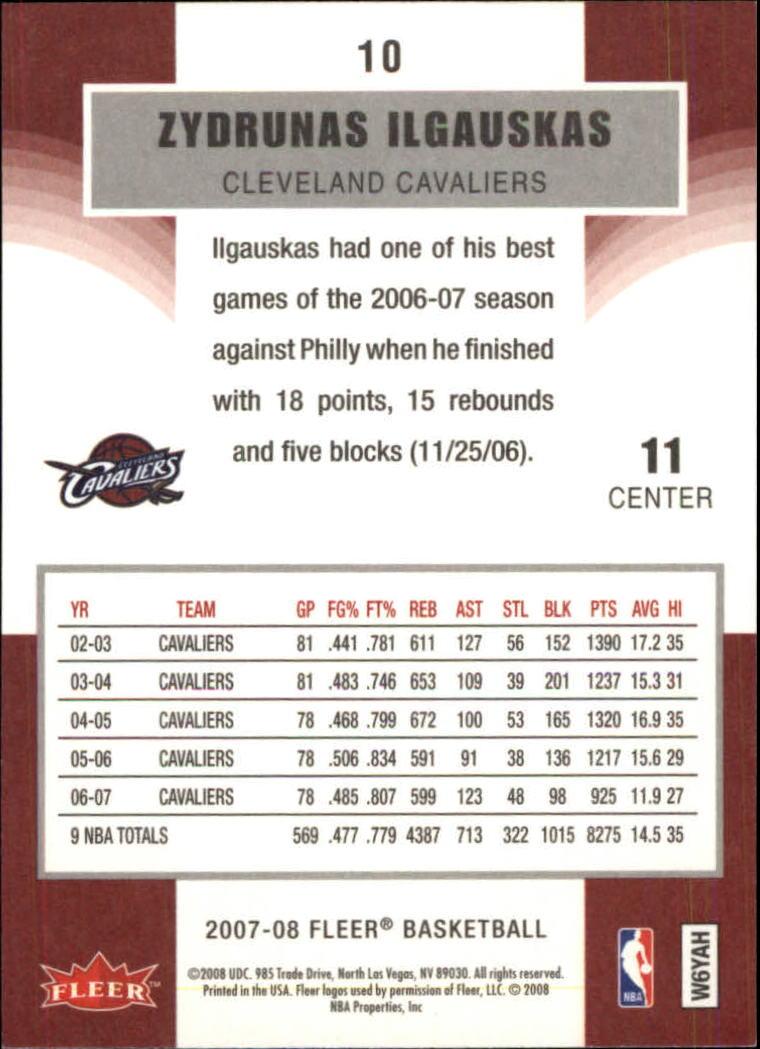 2007-08-Fleer-Basketball-1-250-Your-Choice-GOTBASEBALLCARDS thumbnail 19