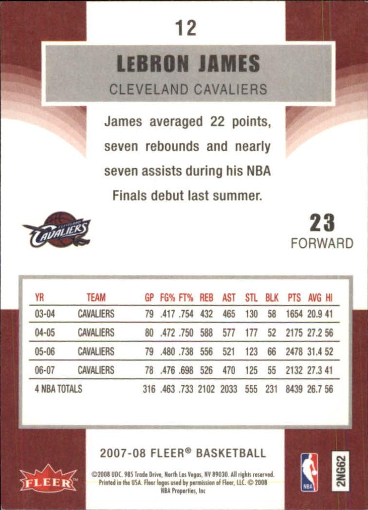 2007-08-Fleer-Basketball-1-250-Your-Choice-GOTBASEBALLCARDS thumbnail 23