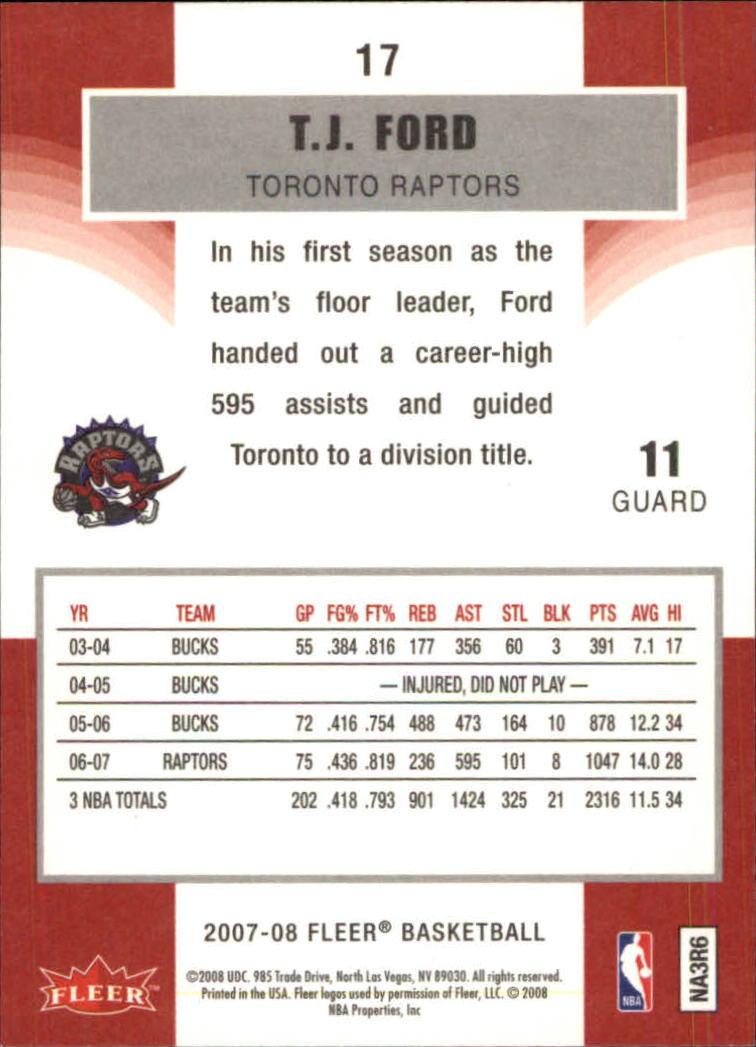 2007-08-Fleer-Basketball-1-250-Your-Choice-GOTBASEBALLCARDS thumbnail 33