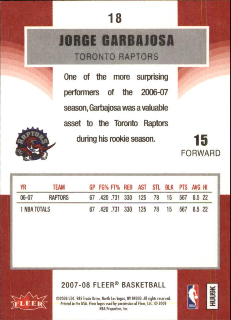 2007-08-Fleer-Basketball-1-250-Your-Choice-GOTBASEBALLCARDS thumbnail 35