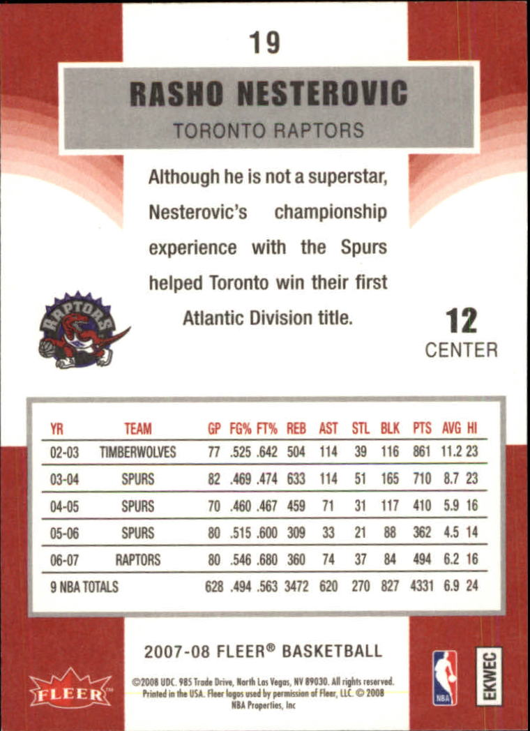 2007-08-Fleer-Basketball-1-250-Your-Choice-GOTBASEBALLCARDS thumbnail 37
