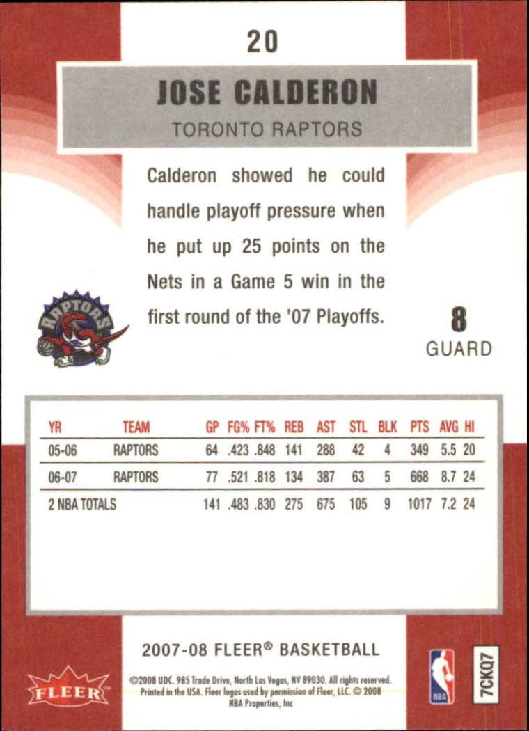 2007-08-Fleer-Basketball-1-250-Your-Choice-GOTBASEBALLCARDS thumbnail 39