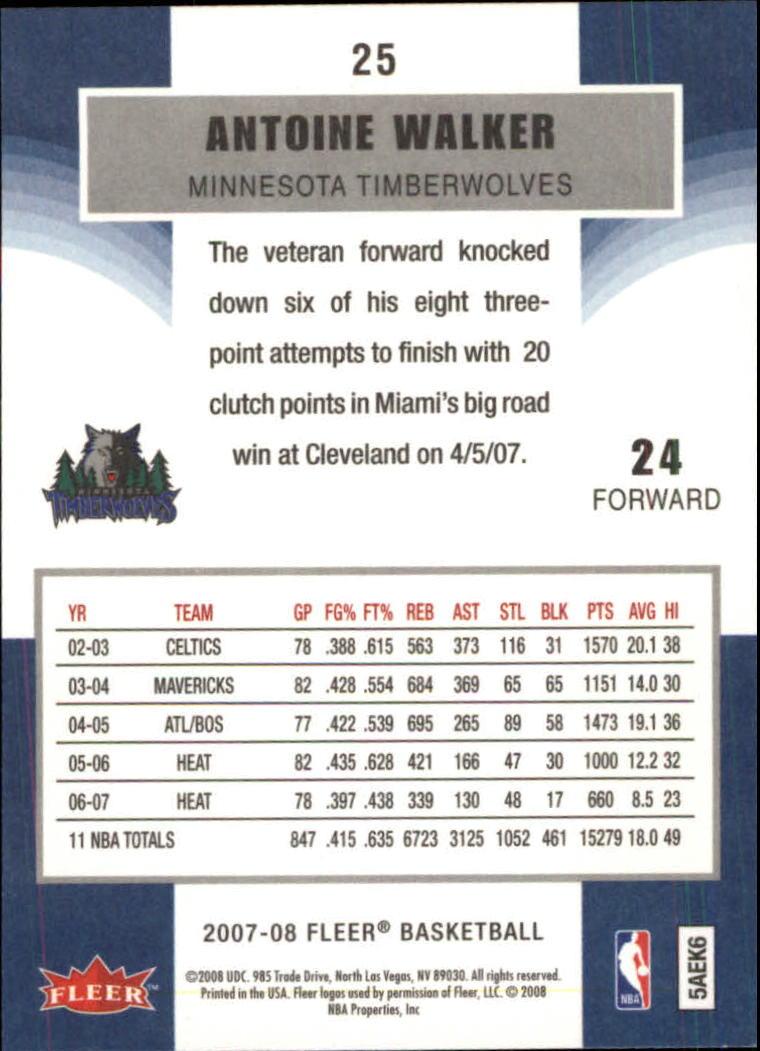 2007-08-Fleer-Basketball-1-250-Your-Choice-GOTBASEBALLCARDS thumbnail 49