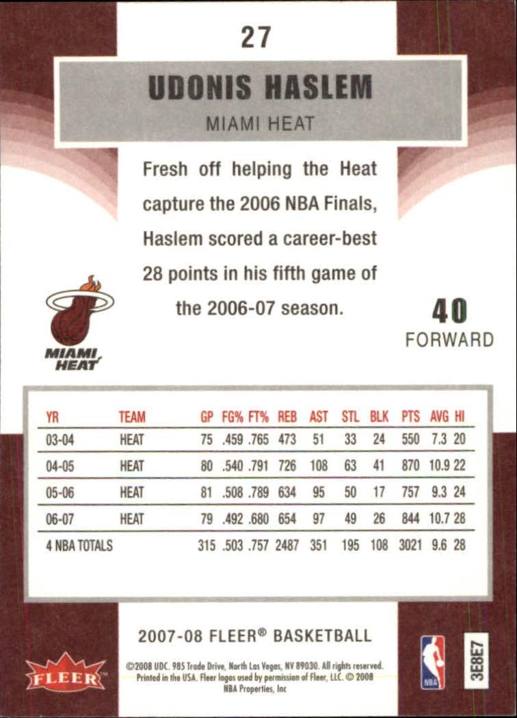 2007-08-Fleer-Basketball-1-250-Your-Choice-GOTBASEBALLCARDS thumbnail 51
