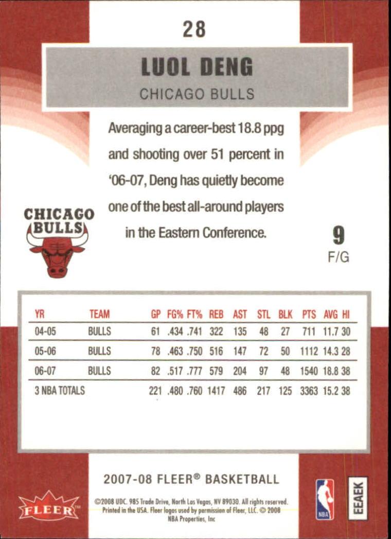 2007-08-Fleer-Basketball-1-250-Your-Choice-GOTBASEBALLCARDS thumbnail 53