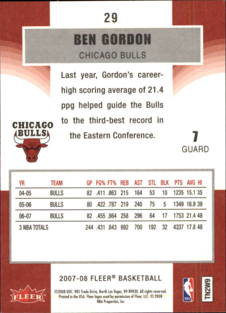2007-08-Fleer-Basketball-1-250-Your-Choice-GOTBASEBALLCARDS thumbnail 55