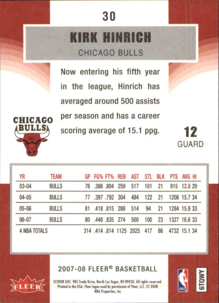 2007-08-Fleer-Basketball-1-250-Your-Choice-GOTBASEBALLCARDS thumbnail 57