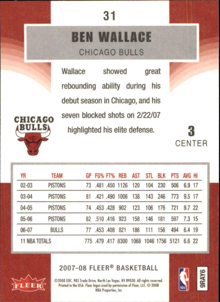 2007-08-Fleer-Basketball-1-250-Your-Choice-GOTBASEBALLCARDS thumbnail 59