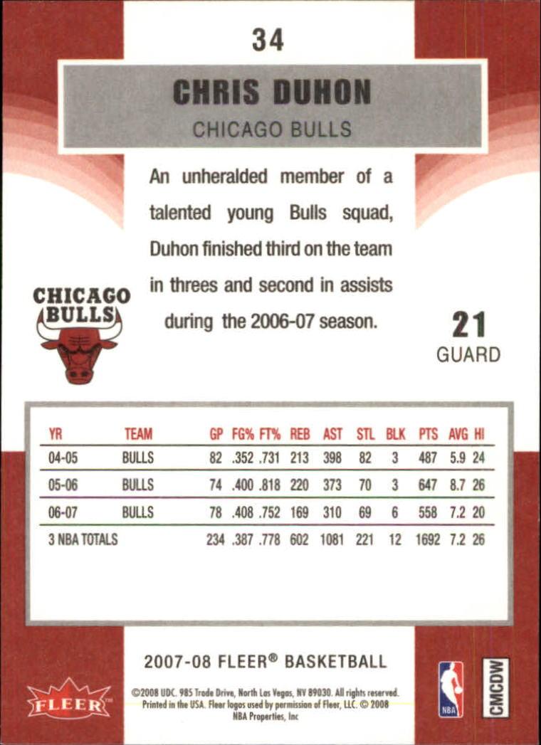 2007-08-Fleer-Basketball-1-250-Your-Choice-GOTBASEBALLCARDS thumbnail 65
