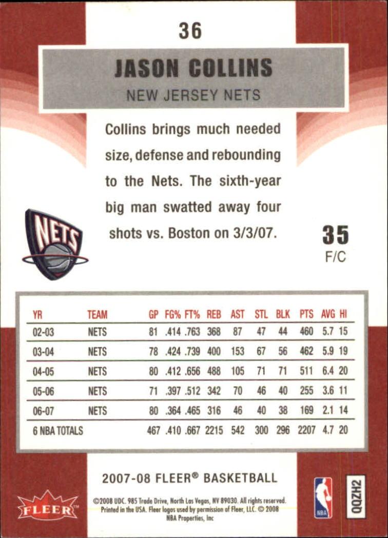2007-08-Fleer-Basketball-1-250-Your-Choice-GOTBASEBALLCARDS thumbnail 69