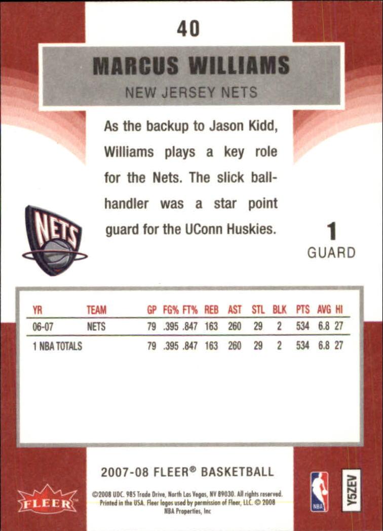 2007-08-Fleer-Basketball-1-250-Your-Choice-GOTBASEBALLCARDS thumbnail 75