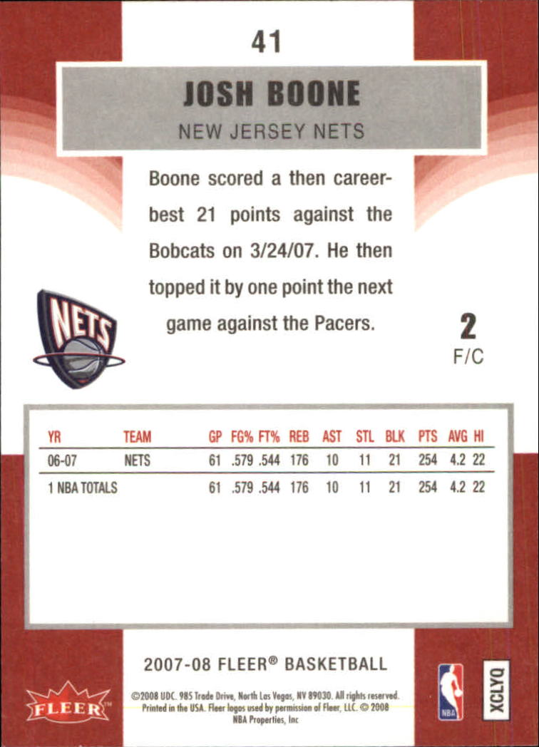 2007-08-Fleer-Basketball-1-250-Your-Choice-GOTBASEBALLCARDS thumbnail 77
