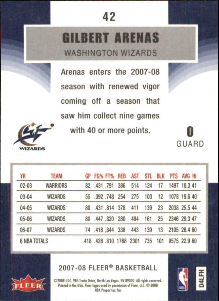 2007-08-Fleer-Basketball-1-250-Your-Choice-GOTBASEBALLCARDS thumbnail 79
