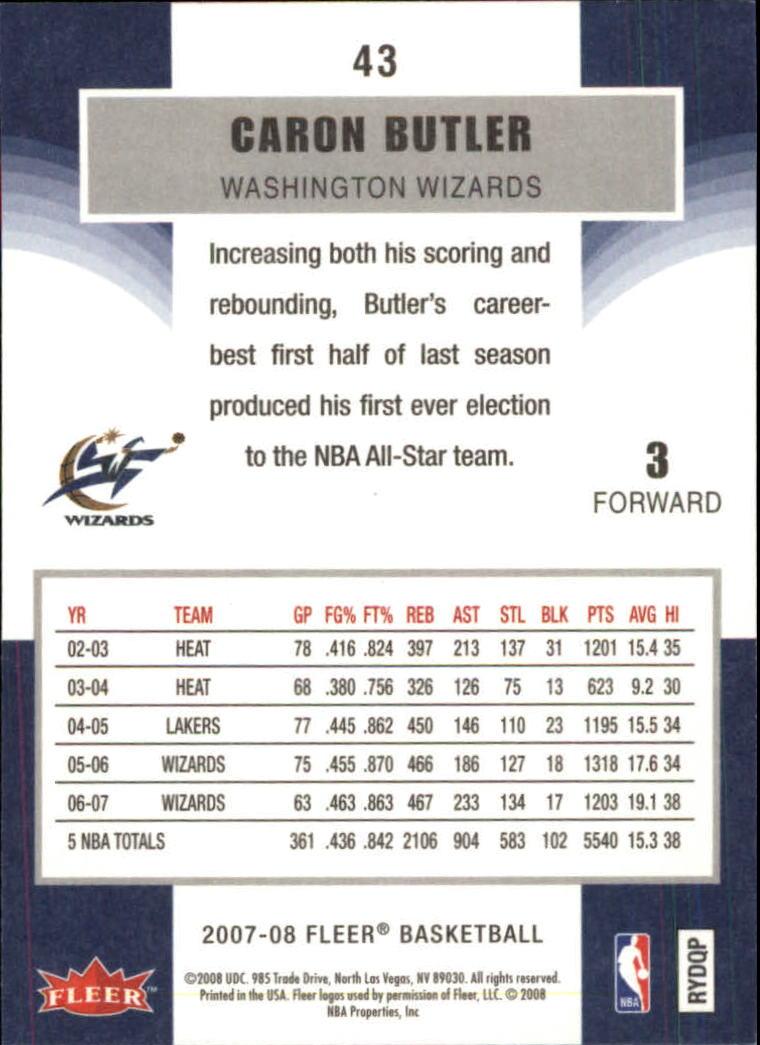 2007-08-Fleer-Basketball-1-250-Your-Choice-GOTBASEBALLCARDS thumbnail 81