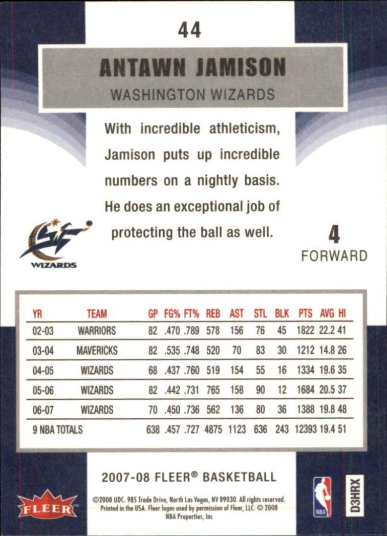 2007-08-Fleer-Basketball-1-250-Your-Choice-GOTBASEBALLCARDS thumbnail 83
