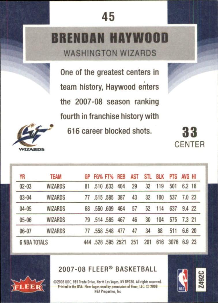 2007-08-Fleer-Basketball-1-250-Your-Choice-GOTBASEBALLCARDS thumbnail 85
