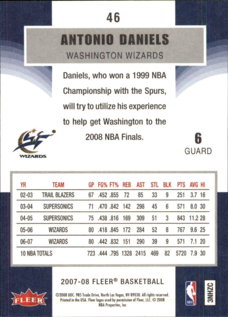 2007-08-Fleer-Basketball-1-250-Your-Choice-GOTBASEBALLCARDS thumbnail 87