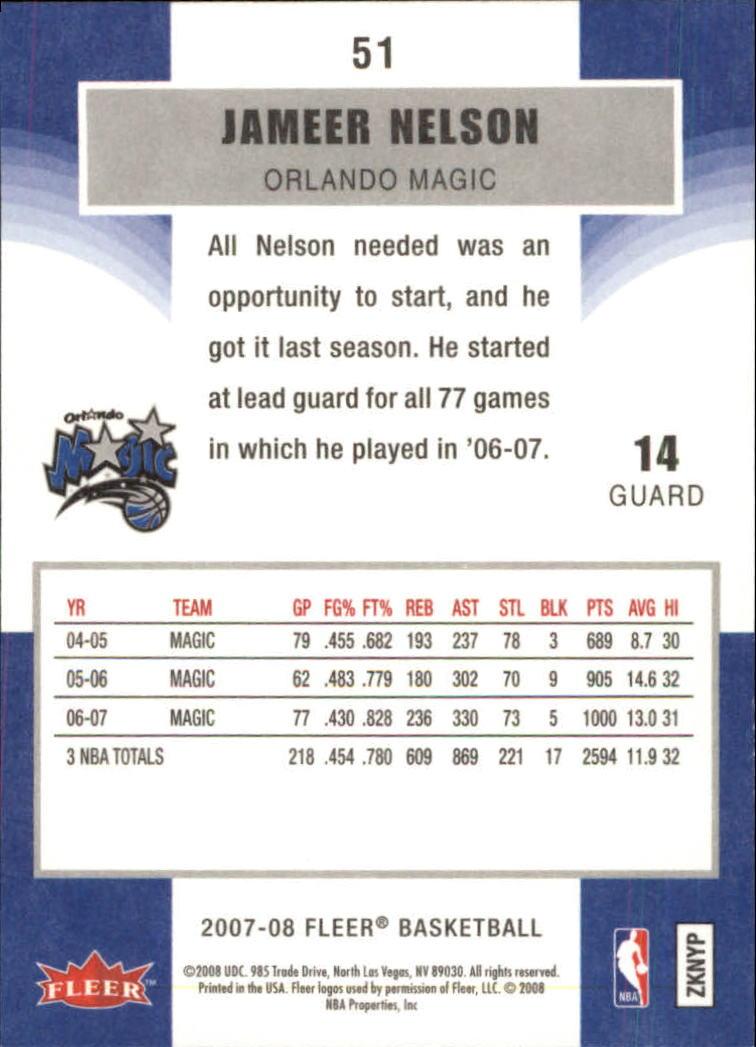 2007-08-Fleer-Basketball-1-250-Your-Choice-GOTBASEBALLCARDS thumbnail 95
