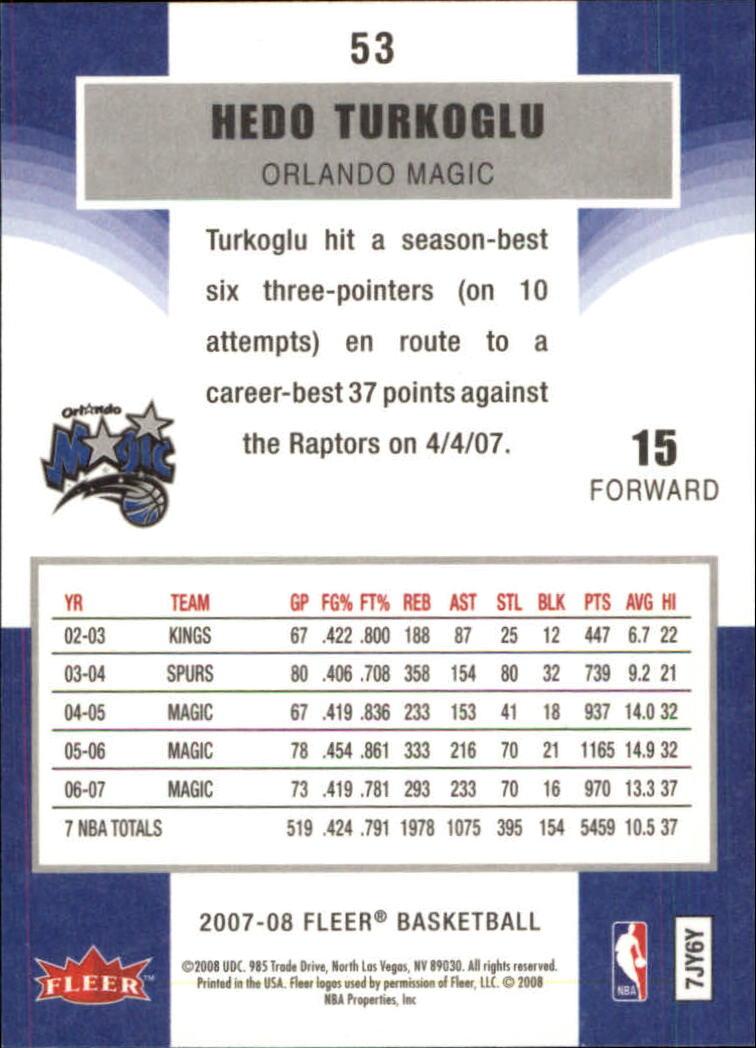 2007-08-Fleer-Basketball-1-250-Your-Choice-GOTBASEBALLCARDS thumbnail 97