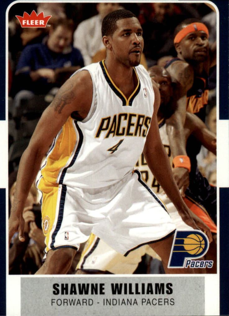 2007-08 Fleer #60 Shawne Williams