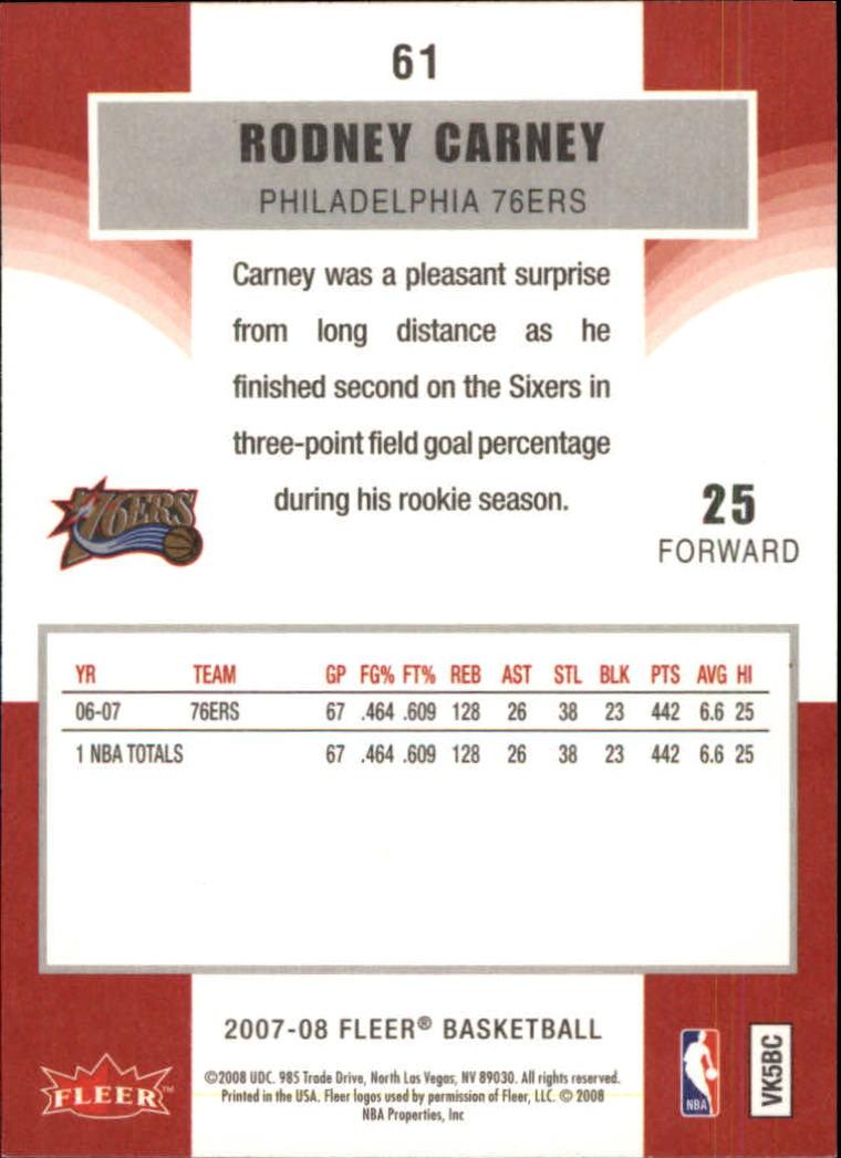 2007-08-Fleer-Basketball-1-250-Your-Choice-GOTBASEBALLCARDS thumbnail 111