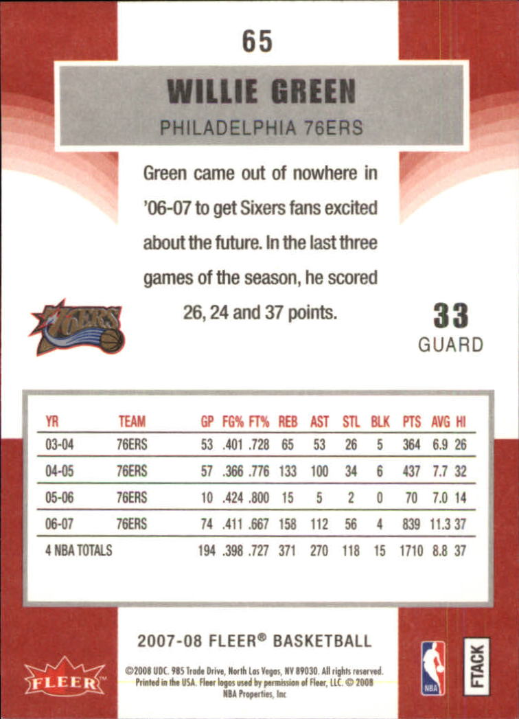 2007-08-Fleer-Basketball-1-250-Your-Choice-GOTBASEBALLCARDS thumbnail 119
