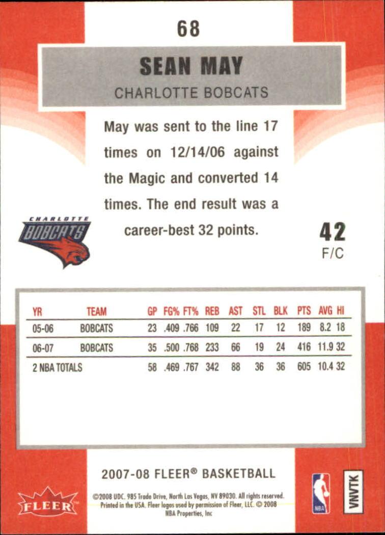 2007-08-Fleer-Basketball-1-250-Your-Choice-GOTBASEBALLCARDS thumbnail 125