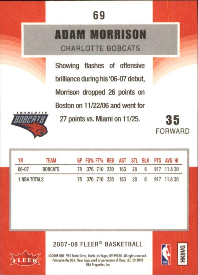 2007-08-Fleer-Basketball-1-250-Your-Choice-GOTBASEBALLCARDS thumbnail 127