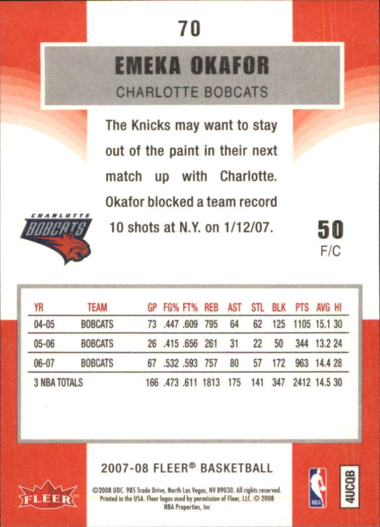 2007-08-Fleer-Basketball-1-250-Your-Choice-GOTBASEBALLCARDS thumbnail 129