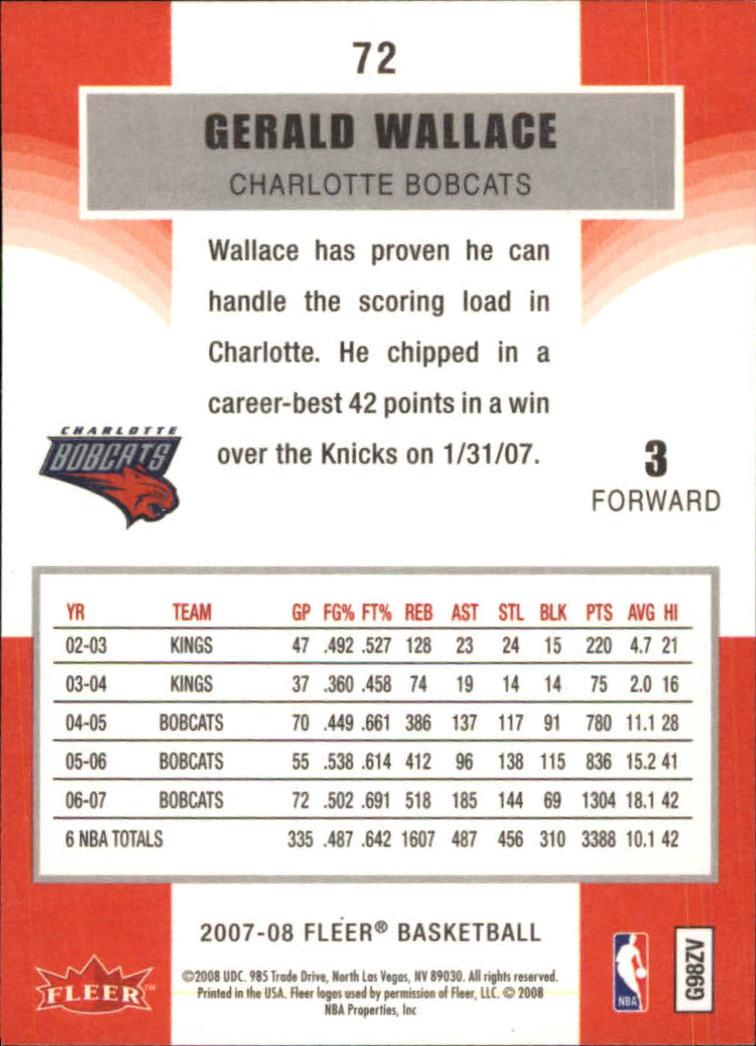 2007-08-Fleer-Basketball-1-250-Your-Choice-GOTBASEBALLCARDS thumbnail 133