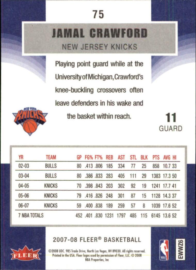 2007-08-Fleer-Basketball-1-250-Your-Choice-GOTBASEBALLCARDS thumbnail 137