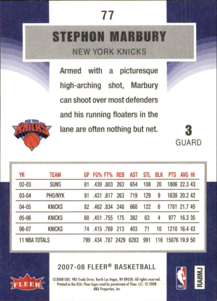 2007-08-Fleer-Basketball-1-250-Your-Choice-GOTBASEBALLCARDS thumbnail 141