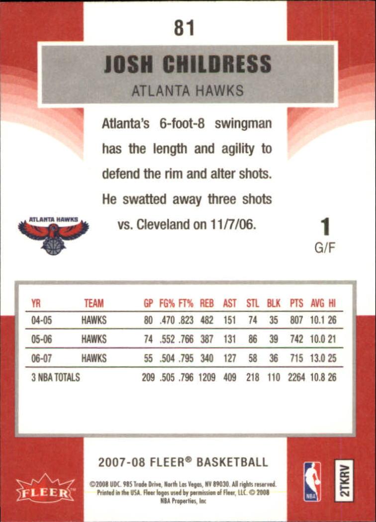2007-08-Fleer-Basketball-1-250-Your-Choice-GOTBASEBALLCARDS thumbnail 149