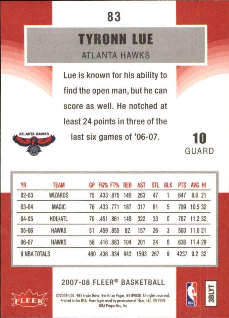 2007-08-Fleer-Basketball-1-250-Your-Choice-GOTBASEBALLCARDS thumbnail 153