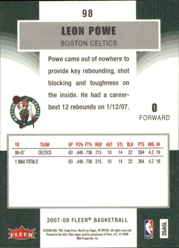 2007-08-Fleer-Basketball-1-250-Your-Choice-GOTBASEBALLCARDS thumbnail 177