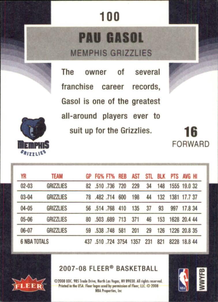 2007-08-Fleer-Basketball-1-250-Your-Choice-GOTBASEBALLCARDS thumbnail 181