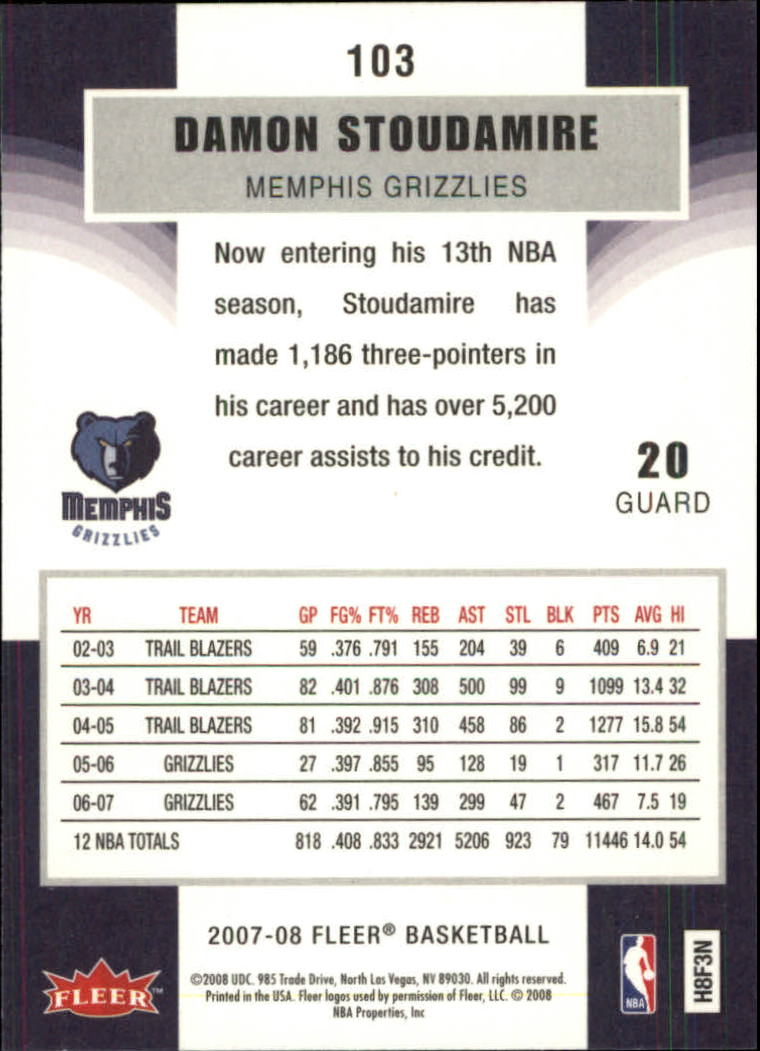 2007-08-Fleer-Basketball-1-250-Your-Choice-GOTBASEBALLCARDS thumbnail 187