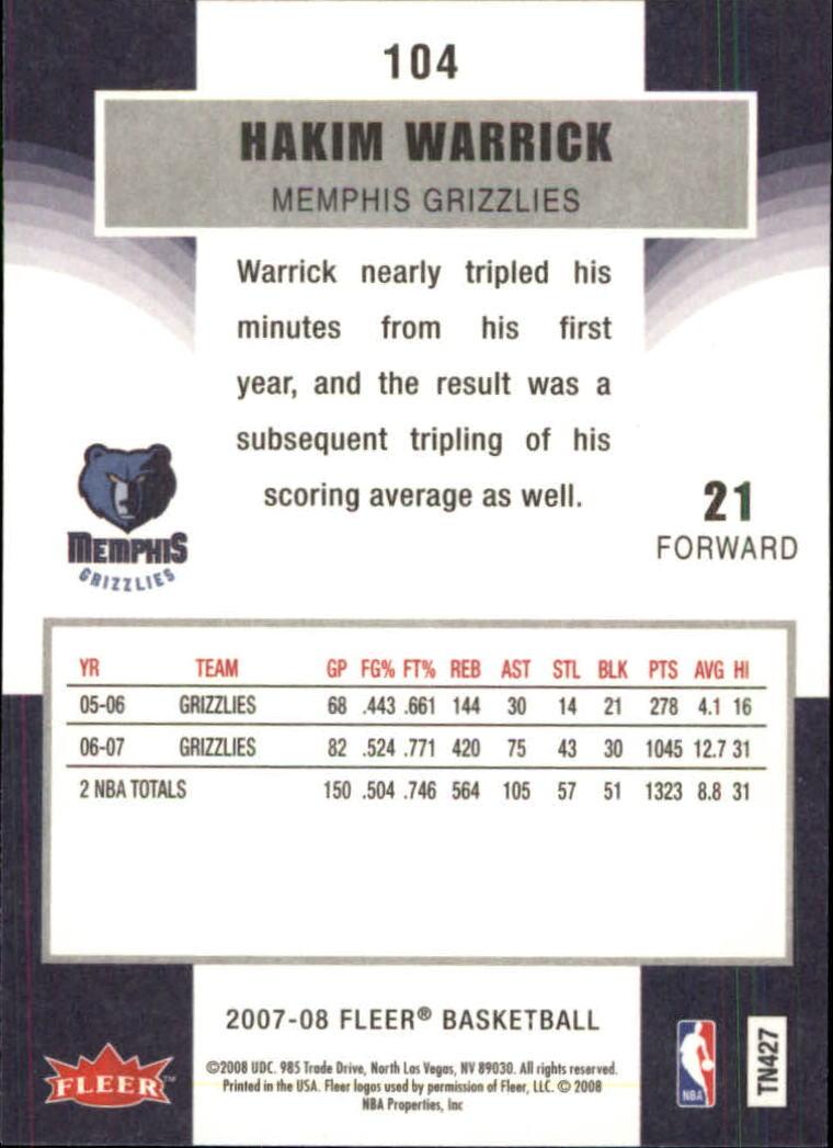 2007-08-Fleer-Basketball-1-250-Your-Choice-GOTBASEBALLCARDS thumbnail 189