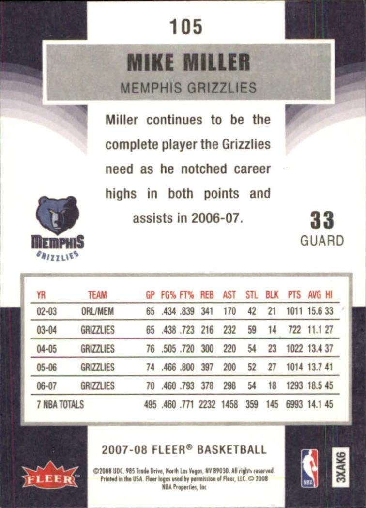 2007-08-Fleer-Basketball-1-250-Your-Choice-GOTBASEBALLCARDS thumbnail 191