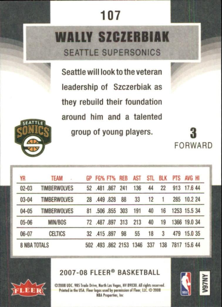 2007-08-Fleer-Basketball-1-250-Your-Choice-GOTBASEBALLCARDS thumbnail 193