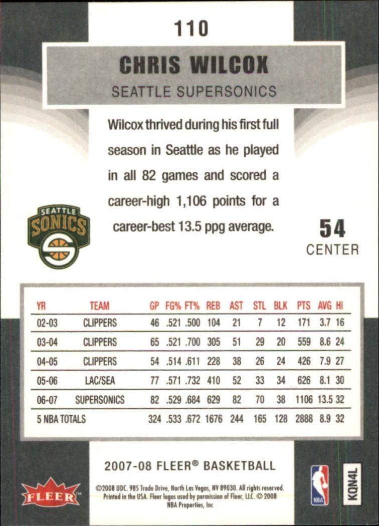 2007-08-Fleer-Basketball-1-250-Your-Choice-GOTBASEBALLCARDS thumbnail 197