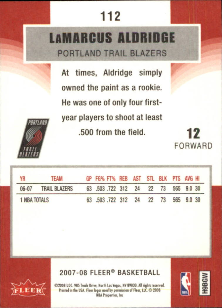 2007-08-Fleer-Basketball-1-250-Your-Choice-GOTBASEBALLCARDS thumbnail 201