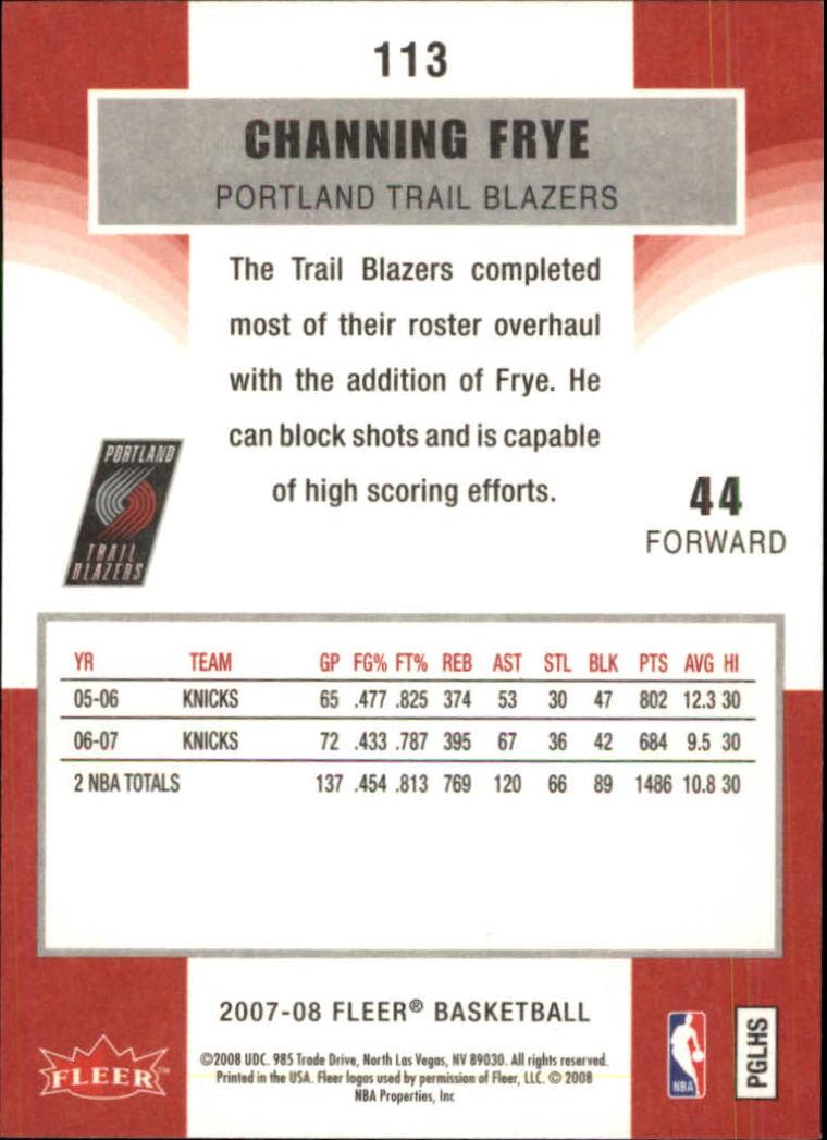 2007-08-Fleer-Basketball-1-250-Your-Choice-GOTBASEBALLCARDS thumbnail 203