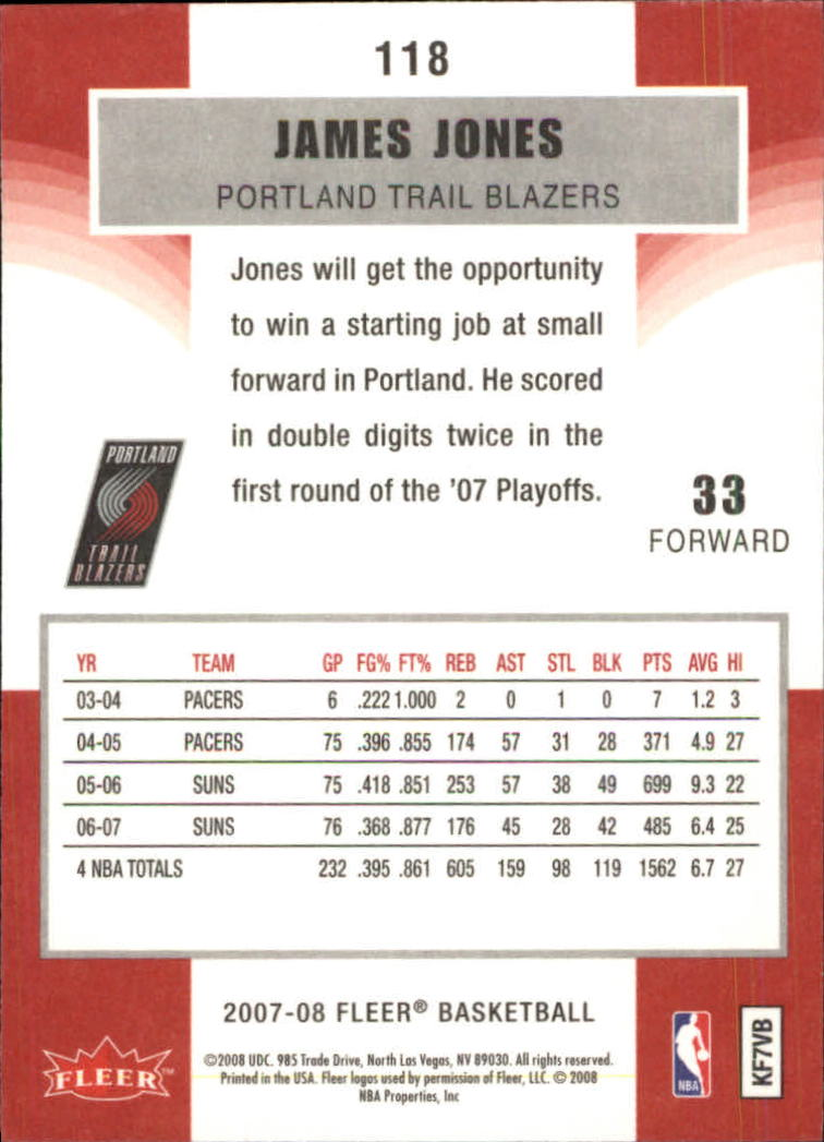 2007-08-Fleer-Basketball-1-250-Your-Choice-GOTBASEBALLCARDS thumbnail 211