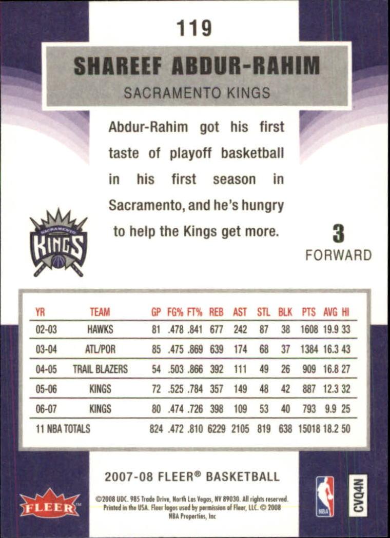 2007-08-Fleer-Basketball-1-250-Your-Choice-GOTBASEBALLCARDS thumbnail 213
