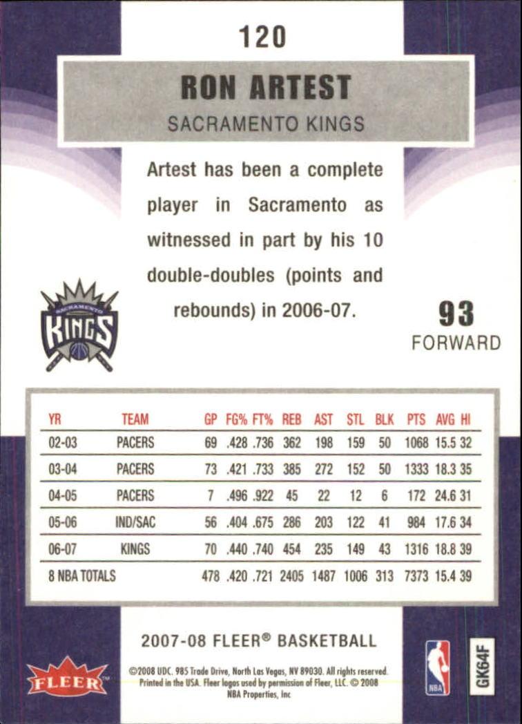 2007-08-Fleer-Basketball-1-250-Your-Choice-GOTBASEBALLCARDS thumbnail 215