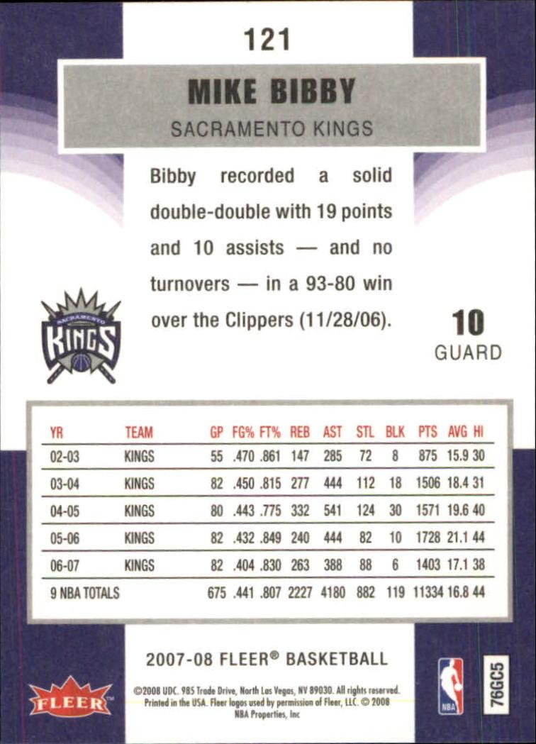 2007-08-Fleer-Basketball-1-250-Your-Choice-GOTBASEBALLCARDS thumbnail 217