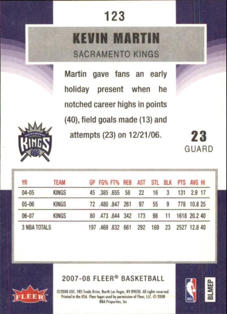 2007-08-Fleer-Basketball-1-250-Your-Choice-GOTBASEBALLCARDS thumbnail 221